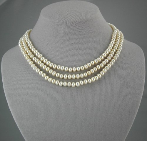 Peach Pearl Necklace        ep1025