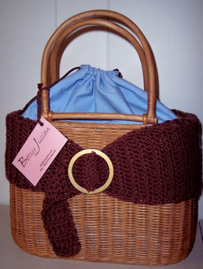 """Wrapped"" up Basket Handbag"