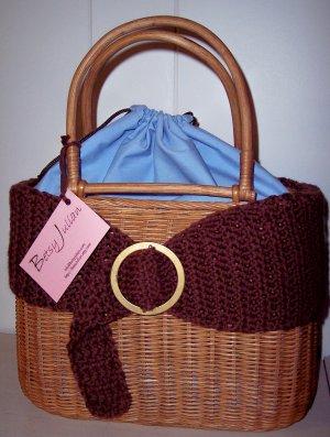 """Wrapped"" up Basket Handbag"