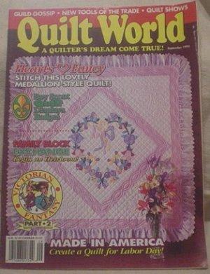 Quilt World Magazine September 1993