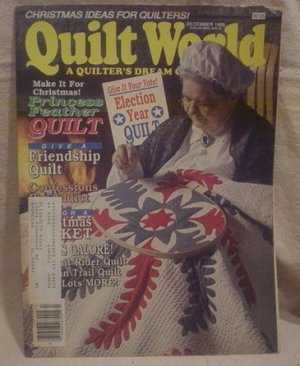 Quilt World Magazine December 1988