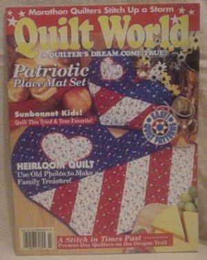 Quilt World Magazine July 1994