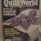 Quilt World Magazine September 1990