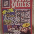 Stitch 'N Sew Quilts Magazine February 1992