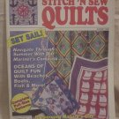 Stitch 'N Sew Quilts Magazine August 1992