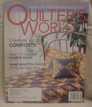 QUILTER'S WORLD MAGAZINE FEBRUARY 2004