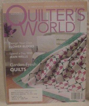 QUILTER'S WORLD MAGAZINE APRIL 2003