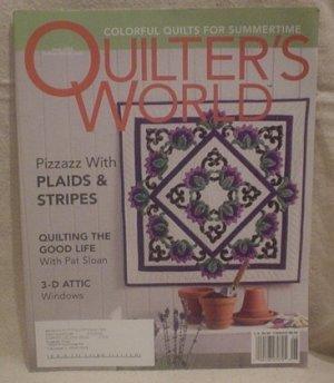 QUILTER'S WORLD MAGAZINE June 2004