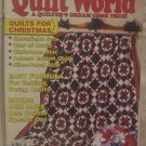 Quilt World Magazine January 1992