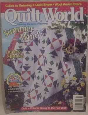 Quilt World Magazine July 1998