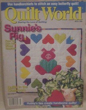 Quilt World Magazine March 1998