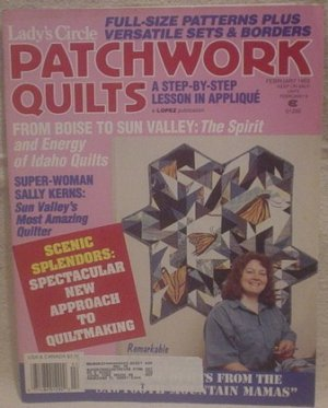 Patchwork Quilts February 1993