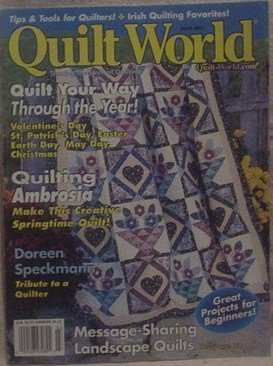 Quilt World March 2001