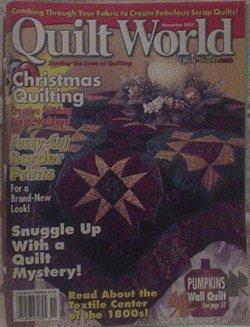 Quilt World November  2001