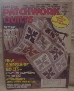 Lady's Circle Patchwork Quilts Magazine Nov/Dec 1991