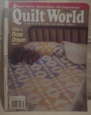 Quilt World March 1990