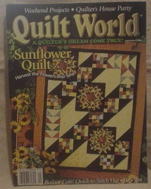 Quilt World Magazine September 1996