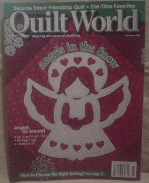 Quilt World Magazine November 1998