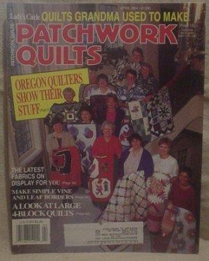 Lady's Circle Patchwork Quilts Magazine April 1994