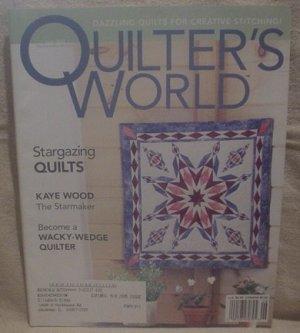 Quilter's World Magazine June 2003
