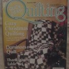 Quick & Easy Quilting December 2002