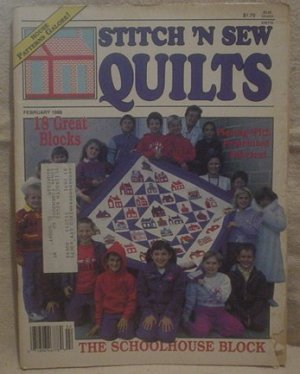 Stitch 'N Sew Quilts February 1989