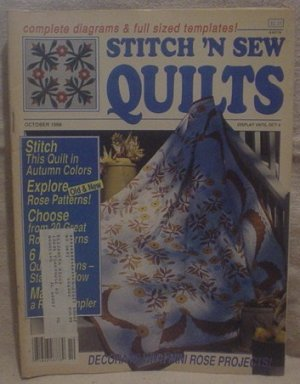 Stitch 'N Sew Quilts October 1988