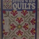 Stitch 'N Sew Quilts June 1989