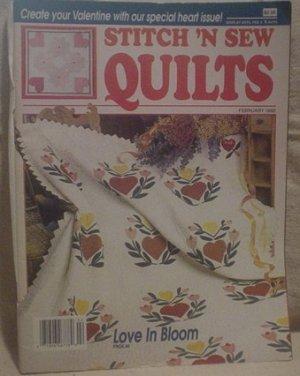 Stitch 'N Sew Quilts February 1990