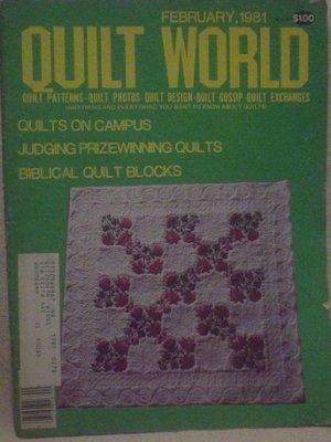 Quilt World Magazine February 1991
