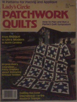 Lady's Circle Patchwork Quilts No. 20 1980