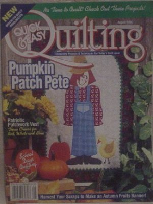 Quick & Easy Quilting August 1996
