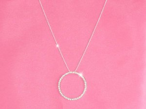 Circle of Life (Love) Crystal Necklace