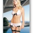 2 Pc. Halter Bra Top And Garter Boy Shorts-Lingerie
