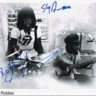 Sly & Robbie FULLY SIGNED 8&quot; x 10&quot; Photo COA 100% Genuine
