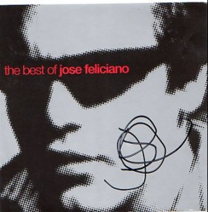 Jose Feliciano SIGNED Album COA 100% Genuine