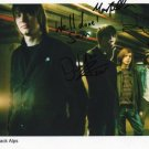 "Nine Black Alps FULLY  SIGNED 8"" x 10"" Photo COA 100% Genuine"