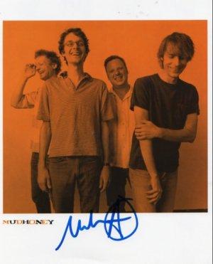 "Mudhoney SIGNED 8"" x 10"" Photo COA 100% Genuine"