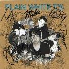 The Plain White T's FULLY  SIGNED Album COA 100% Genuine