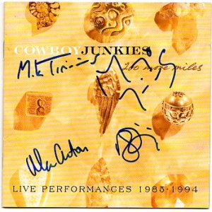 The Cowboy Junkies FULLY SIGNED Album COA 100% Genuine