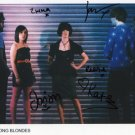 "The Long Blondes FULLY SIGNED 8"" x 10"" Photo COA 100% Genuine"