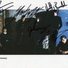 "The Bravery FULLY SIGNED 8"" x 10"" Photo COA 100% Genuine"