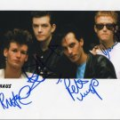 "Bauhaus FULLY SIGNED 8"" x 10"" Photo COA 100% Genuine"