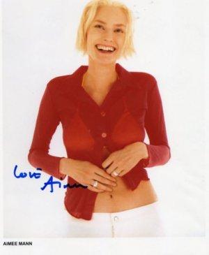"Aimee Mann SIGNED 8"" x 10"" Photo COA 100% Genuine"