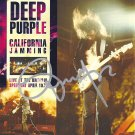 Deep Purple SIGNED Album COA 100% Genuine