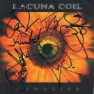 Lacuna Coil SIGNED Album COA 100% Genuine