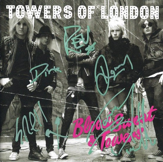 Towers Of London FULLY SIGNED Album COA 100% Genuine
