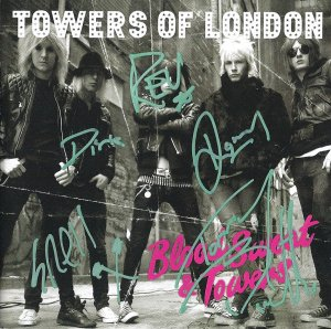 Towers Of London FULLY SIGNED Album COA 100% Genuine