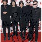 "The Horrors FULLY SIGNED 8"" x 10"" Photo COA 100% Genuine"
