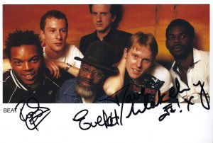 The Beat Specials Ska 2-Tone SIGNED 8&quot; x 10&quot; Photo COA 100% Genuine